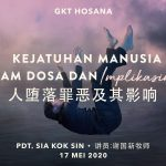 Ibadah Daring GKT Hosana, 17 Mei 2020.