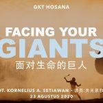 Ibadah Daring GKT Hosana, 23 Agustus 2020.