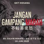 Ibadah Daring GKT Hosana, 28 Juni 2020.