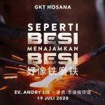 Ibadah Daring GKT Hosana, 19 Juli 2020.